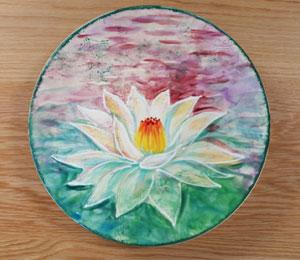 Lafayette Lotus Flower Plate