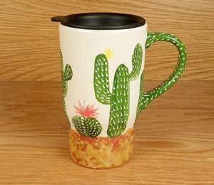 Lafayette Cactus Travel Mug