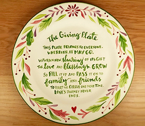 Lafayette The Giving Plate